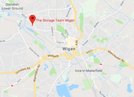 storage in wigan