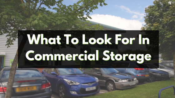 commercial storage unit