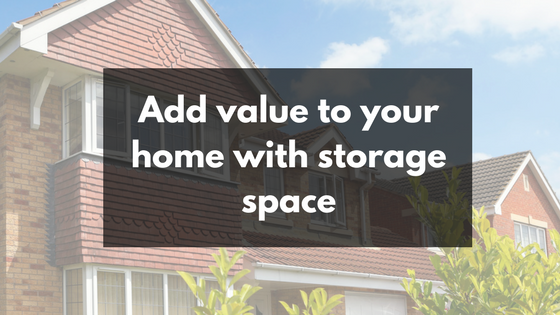 home sale storage space wigan