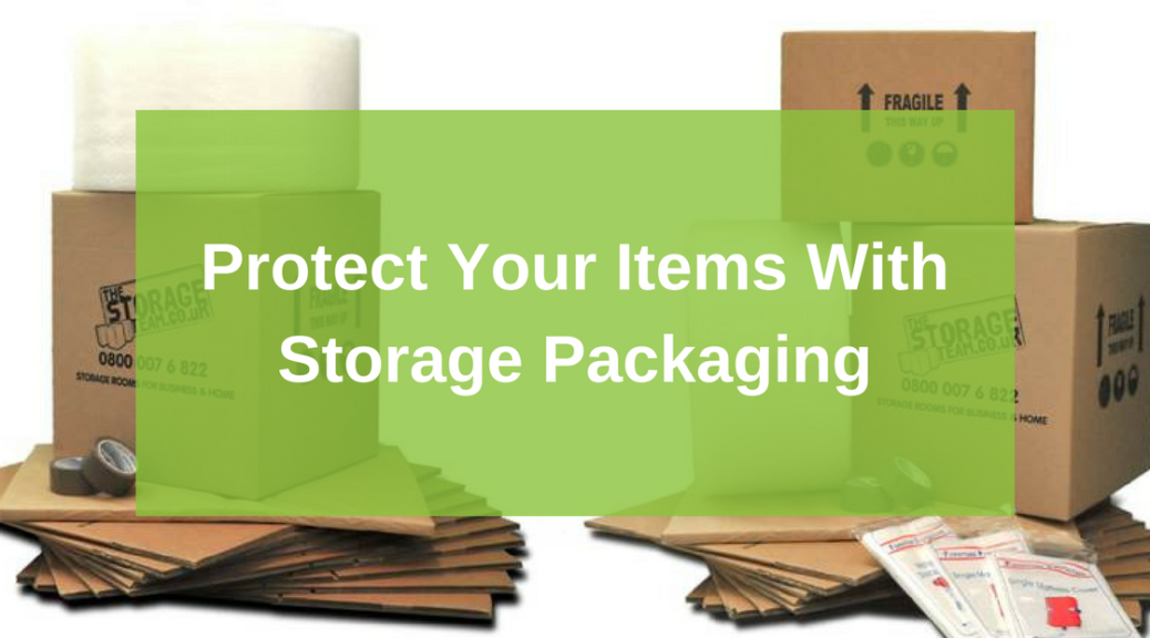storage covers and packing