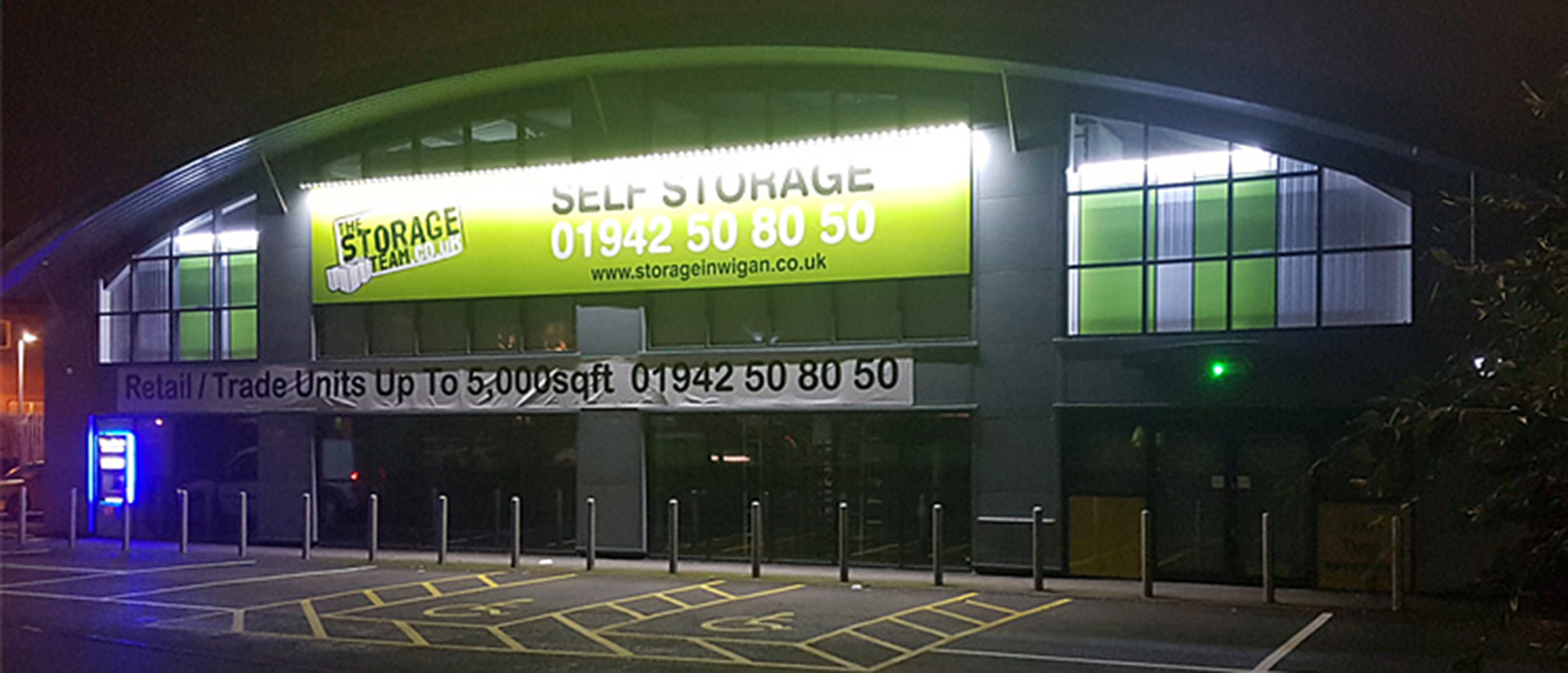 Self storage facility in Wigan