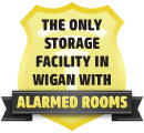 Alarmed Storage Unit in Wigan