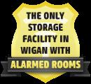 Alarmed Storage Unit in Wigan
